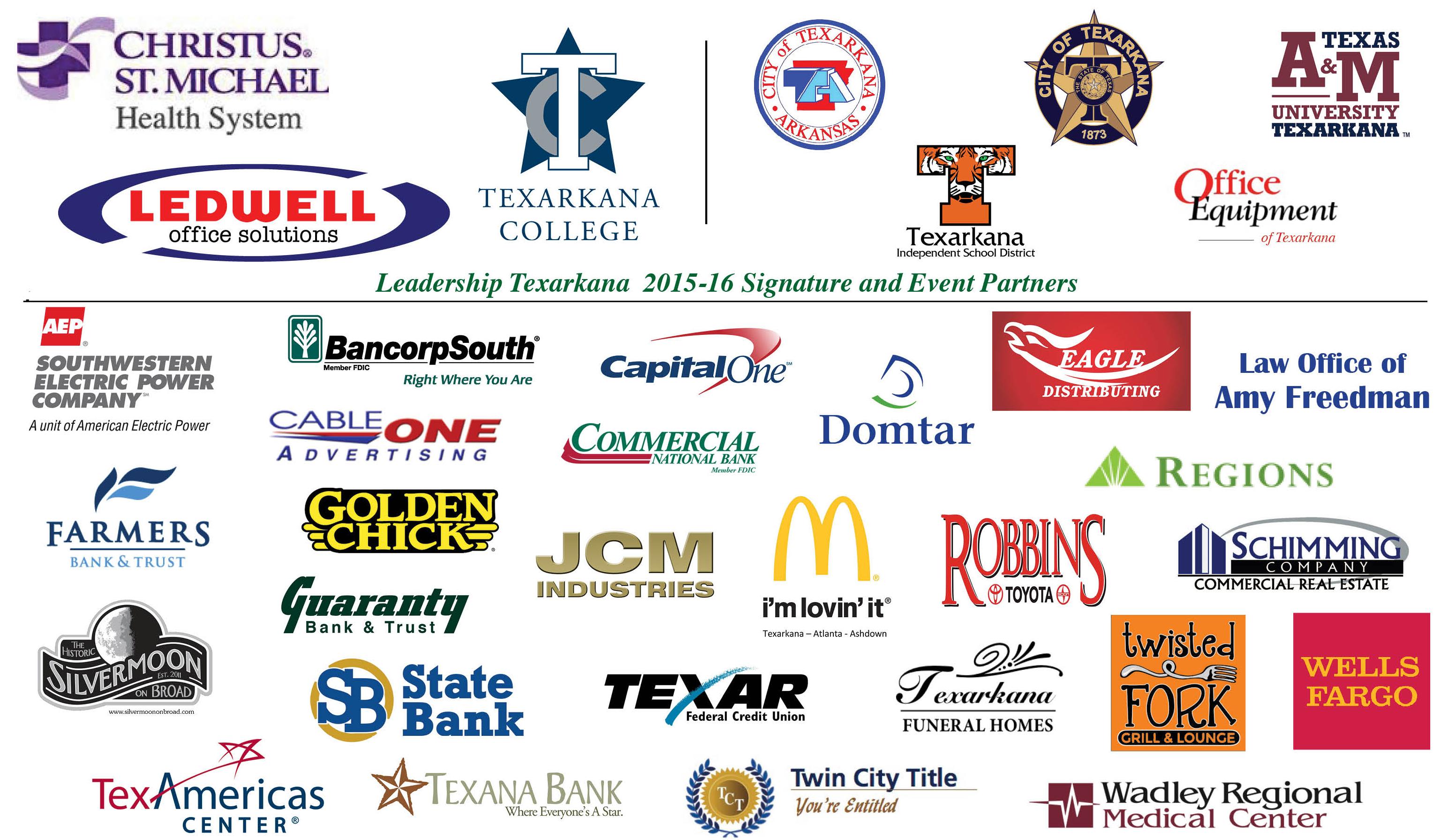 Sponsoring Partners